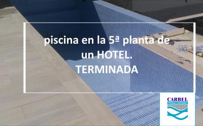 PISCINA 5ª Planta Málaga Hotel