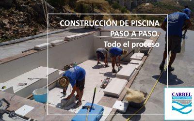 Piscina con vistas a un Olivar / CONSTRUCCIÓN PASO A PASO