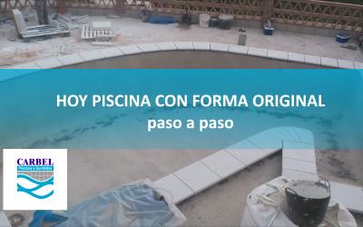 Piscina con forma irregular 😱 PASO A PASO