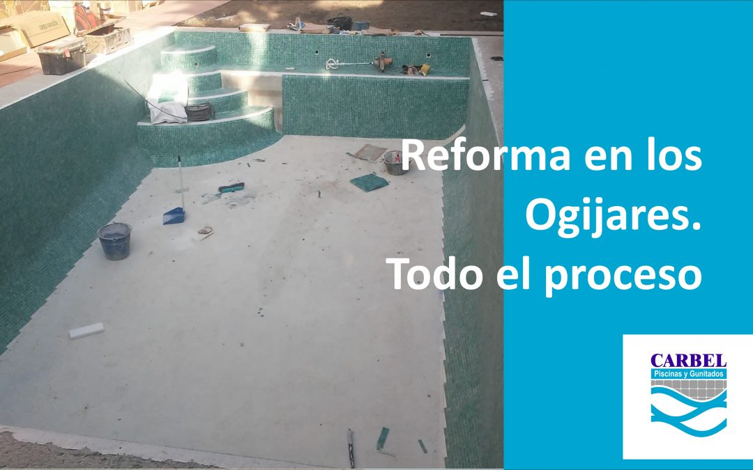 En Ogijares de reforma, todo el proyecto.