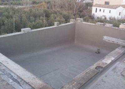 Piscina en terraza Piscinas y gunitados Carbel 11