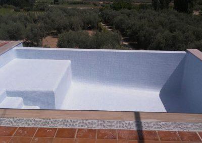 Piscina en terraza Piscinas y gunitados Carbel 6